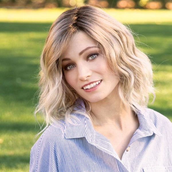Evanna Mono Ladies Wig by Amore Designer - Monofilament