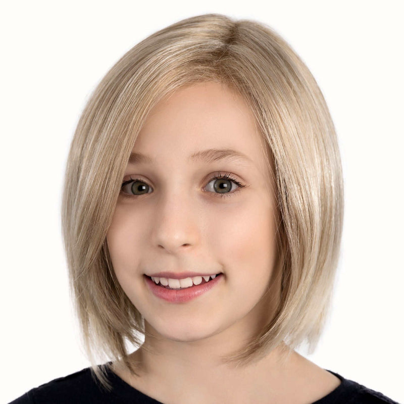Eli Part Monofilament Lace Front Childrens Wig From The Ellen Wille Wigs For Power Kids Collection