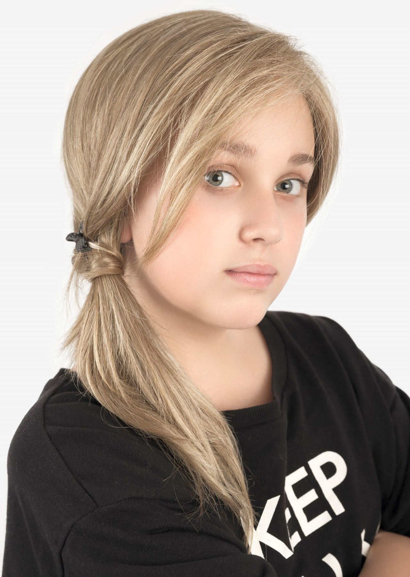 Sara Part Monofilament Lace Front Childrens Wig From The Ellen Wille Wigs For Power Kids Collection