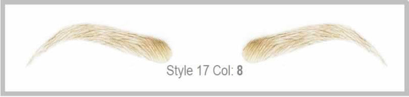Dimples Natural Eyebrows Style 17