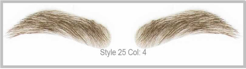 Dimples Natural Eyebrows Style 25
