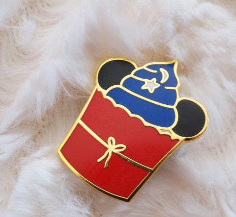 The Sorcerer's Cupcake Enamel Pin
