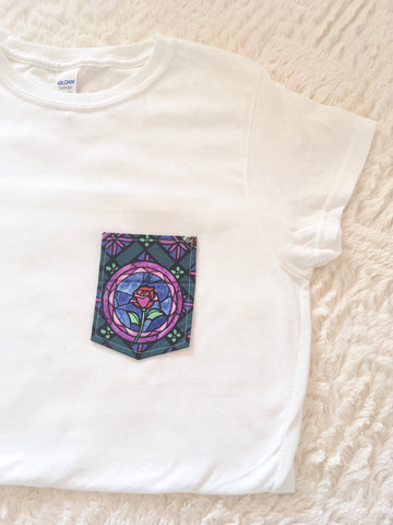 Stained Glass Tee Pocket