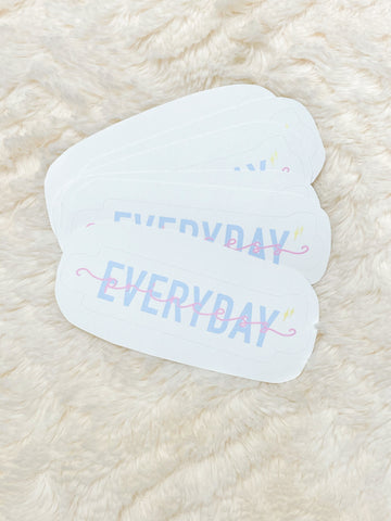 Everyday Princess Logo Sticker