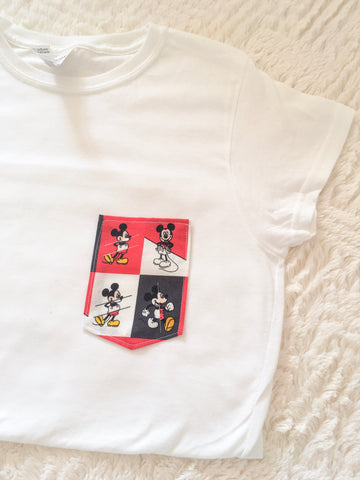 The Main Mouse Tee Pocket