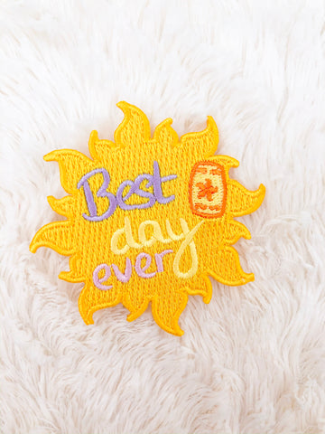 Best Day Ever Iron-On Patch
