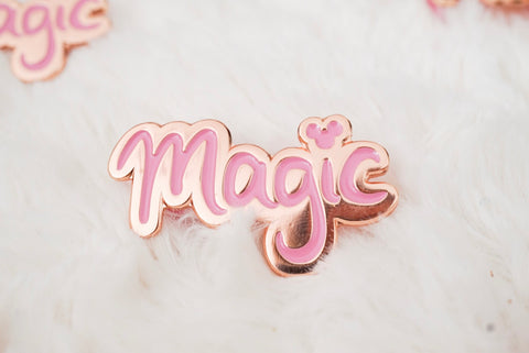 SECONDS Magic with the Mouse Enamel Pin