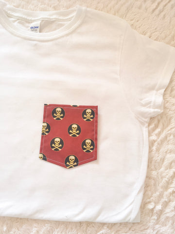 Team Pirates Tee Pocket
