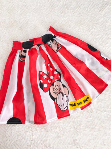 Stripey Mouse Skirt - Limited Edition