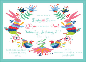 Otomi Fiesta Invitation