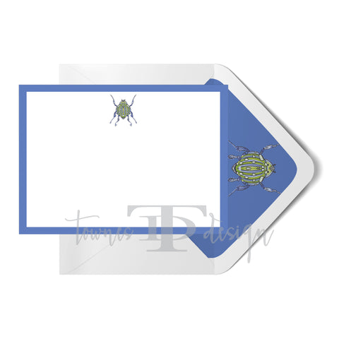 Blue Beetle Note Card set