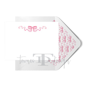 Bow Note Card set