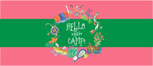 Camp Crest Slim Note Card - Girl