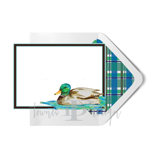 Mallard Note Card set