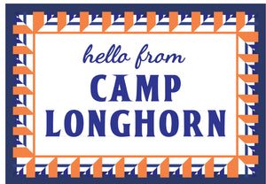 Camp Longhorn Postcard