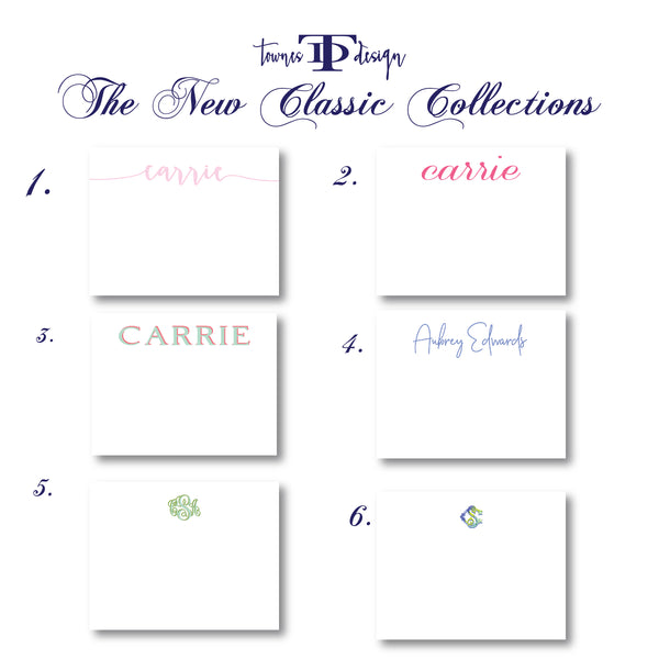 SEEING SPOTS Classic Personalized  Collections Note Set