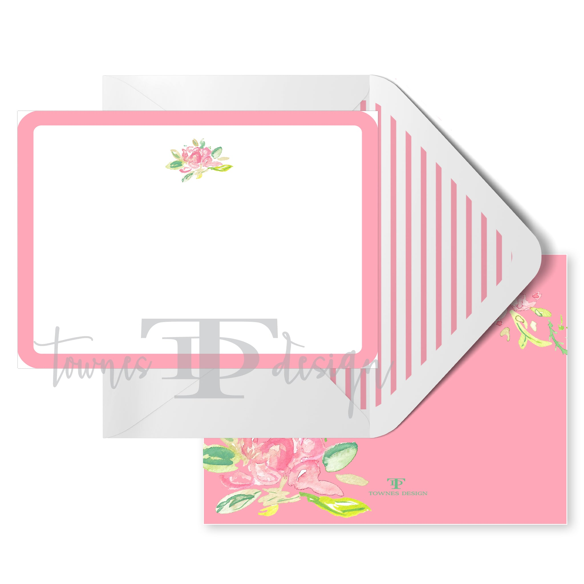 Rose Note Card set