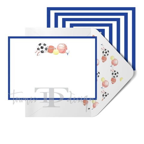 Sports Note Card set