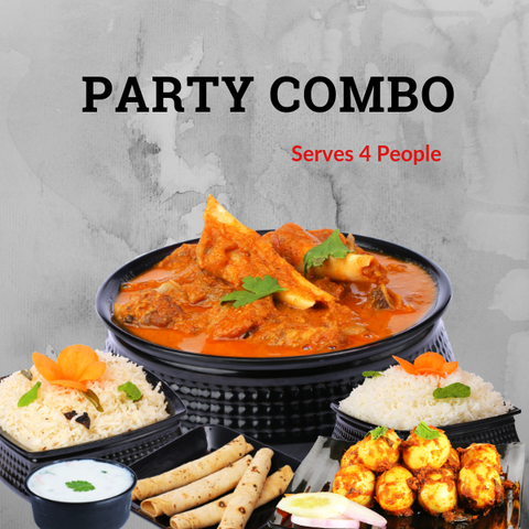 Party Combo (Serves 4 People)