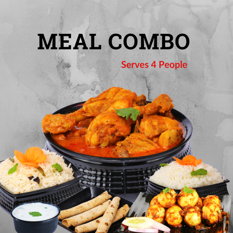 Meal Combo (Serves 4 People)