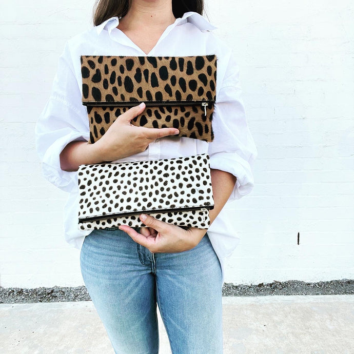 PREORDER - Fletcher clutches, fold over & wallet style