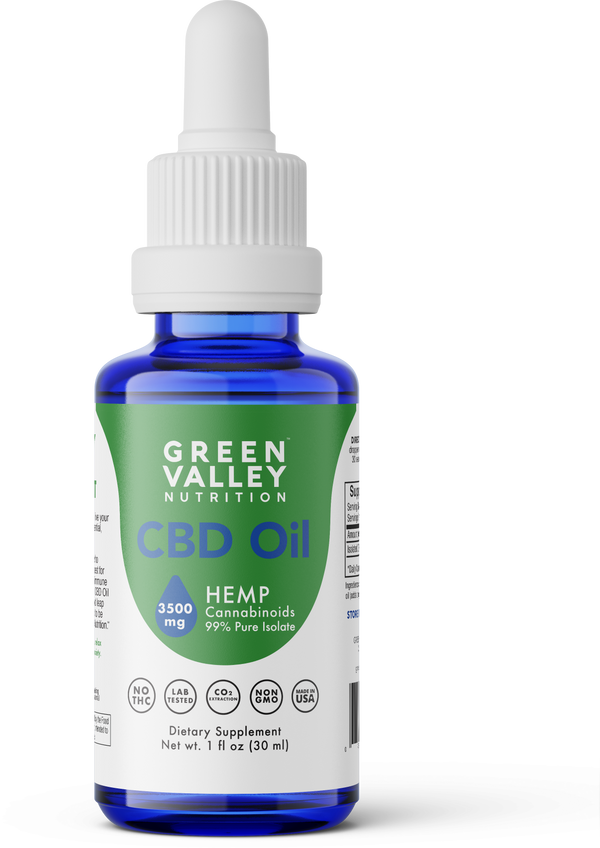 CBD Oil Drops - 3500mg