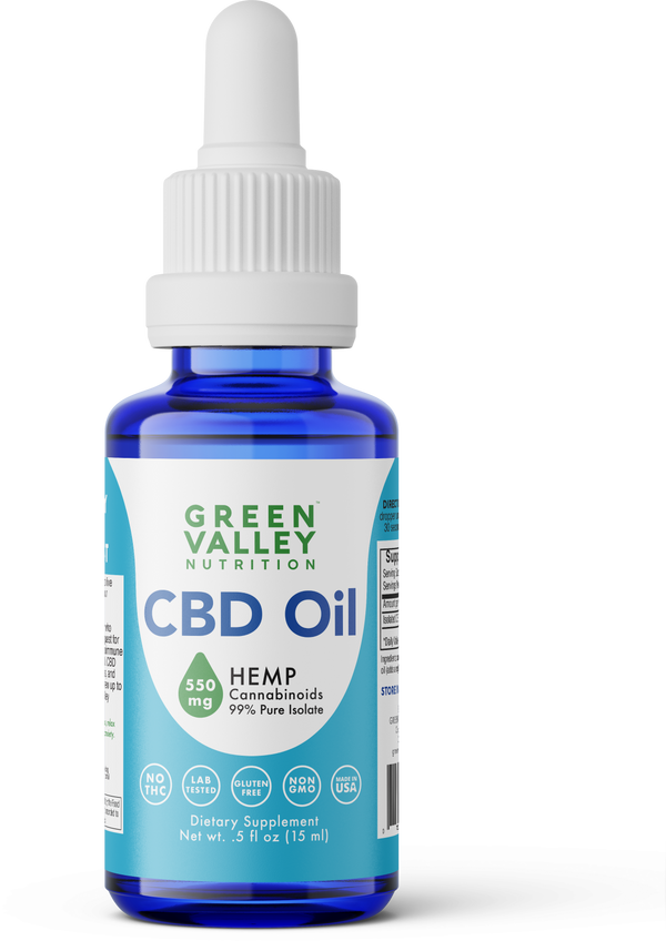 CBD Oil Drops - 550mg