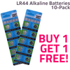 AG13 / LR44 Alkaline Batteries (10 pack)