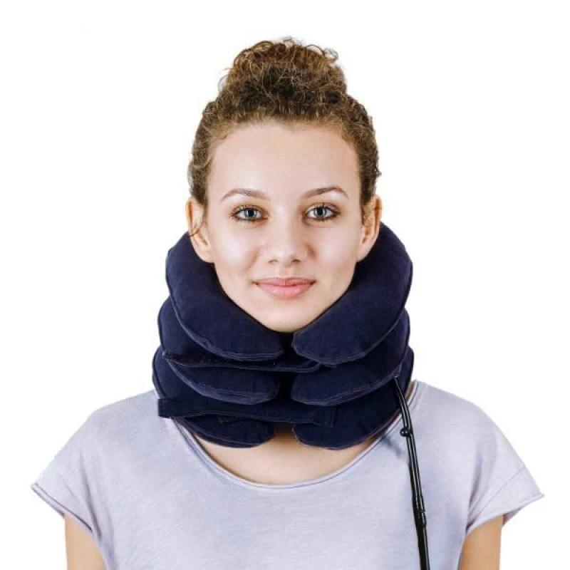 3-Layer Therapeutic Neck Traction Pillow for Pain Relief