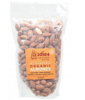 Live Life Green, Almonds Organic Activated, palm oil free