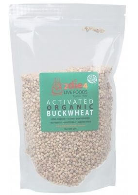 Buckwheat Organic Activated - 2Die4 Live Foods