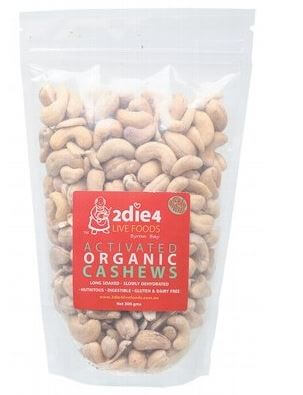 Cashews Activated Organic - 2Die4 Live Foods