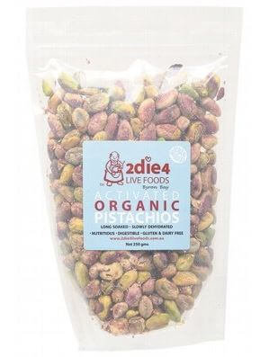 Pistachios Activated Organic - 2Die4 Live Foods