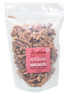 Walnuts Activated Organic - 2Die4 Live Foods