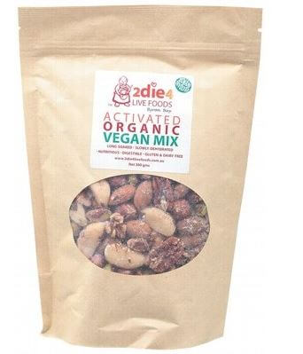 Vegan Mix Activated Organic - 2Die4 Live Foods