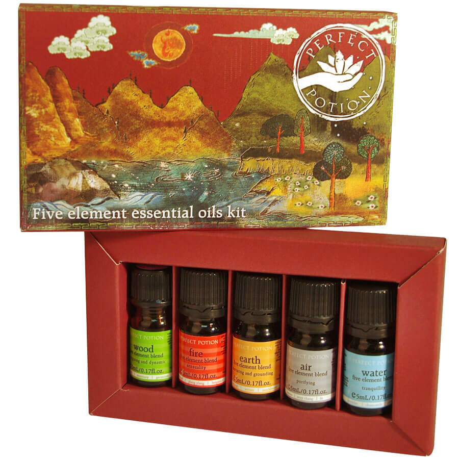 Five Elements Essential Oils Kit - Perfect Potion