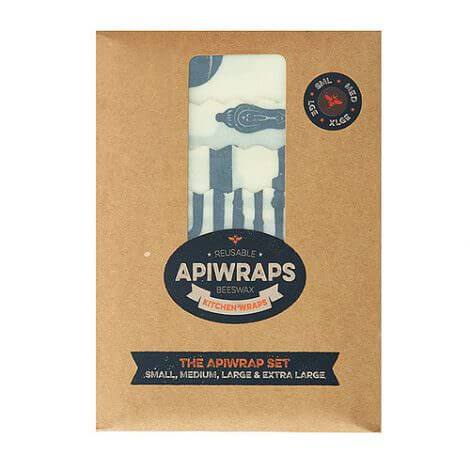 Full Set - Apiwraps Reusable Beeswax Wraps