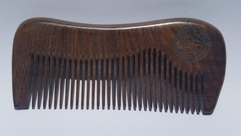 Wooden comb - narrow tooth