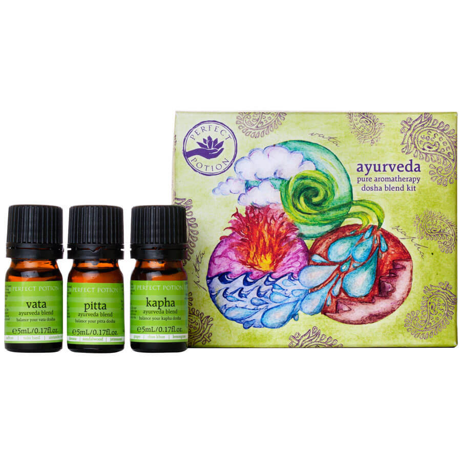 Ayurveda Dosha Blend Kit - Perfect Potion
