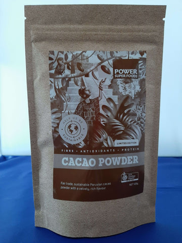 Live life Green certified Organic Fair Trade Cacao powder
