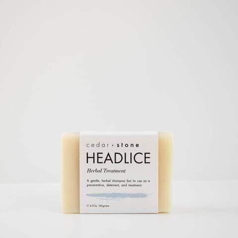 Cedar & Stone cleanse bars headlice