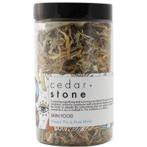 Cedaar & Stone tea & bath  skin food