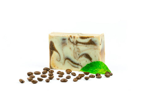 harvest garden coffee & mint bar soap