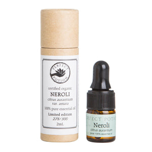 Neroli LIMITED EDITION 100% Pure & Certified Organic Essential Oil - Perfect Potion
