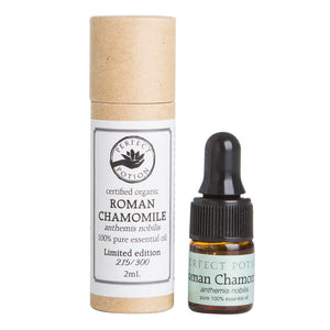 Chamomile (Roman) LIMITED EDITION 100% Pure & Certified Organic Essential Oil - Perfect Potion