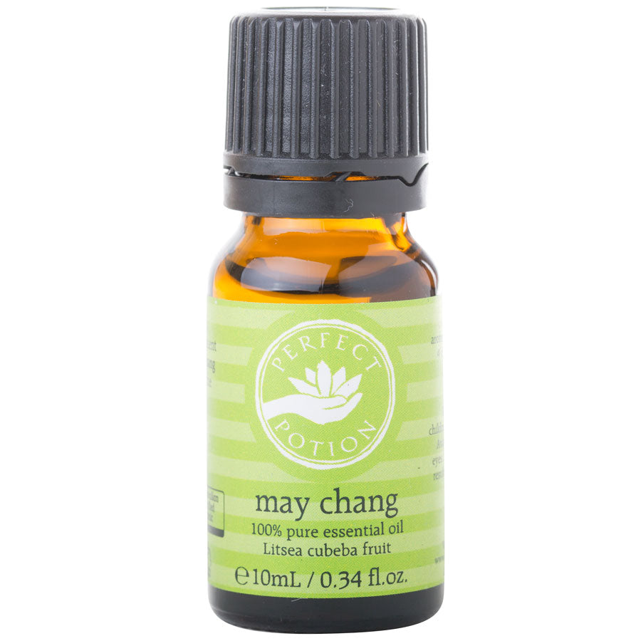 May Chang 100% Pure & Certified Organic Essential Oil - Perfect Potion