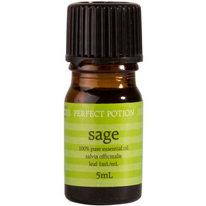 Sage 100% Pure & Certified Organic Essential Oil - Perfect Potion