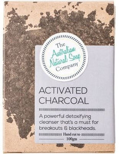 Australian Natural Soap Company - Activated Charcoal Soap