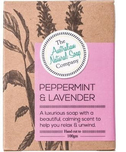 Australian Natural Soap Company - Peppermint & Lavender Soap