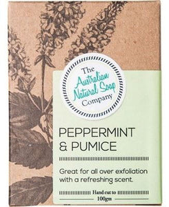 Australian Natural Soap Company - Peppermint & Pumice Soap